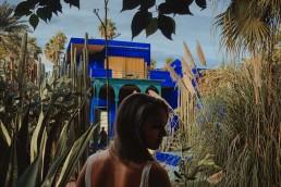 nevesta, zahrada, maroko, marrakech
