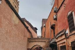 ulice, maroko, marakes